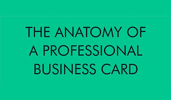 How To Create A Professional Business Card People Wont Throw Away