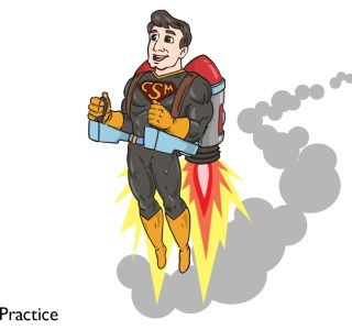 Hero with Rocket pack 2
