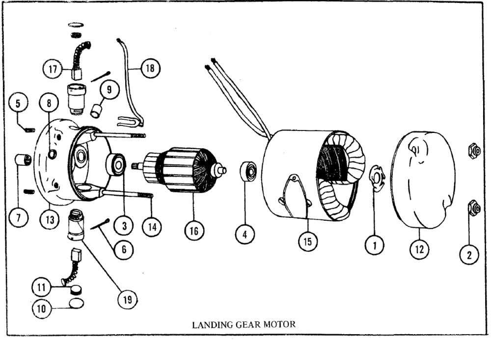 medium resolution of here is a parts diagram explosion of the gear motor