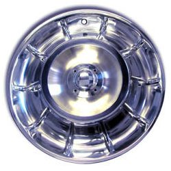 1956 1957 1958 Corvette Wheel Cover Set Without Spinners