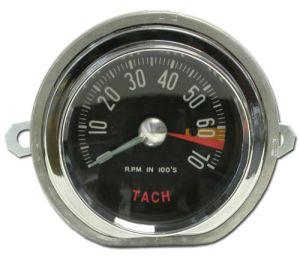 1959 Corvette HiRPM Tachometer Assembly (Distr. Driven) Tach