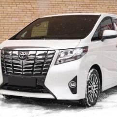 Brand New Toyota Alphard For Sale Grand Avanza G M/t Wagons 2017 Model In White Stock 59306 Cso Japan Image1