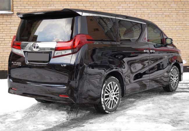 brand new toyota alphard for sale foto grand veloz wagons 2017 model in black stock 59307 cso japan image2