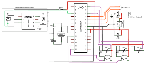 small resolution of control voltage to arduino