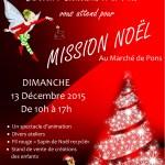 Affiche Marché Noel