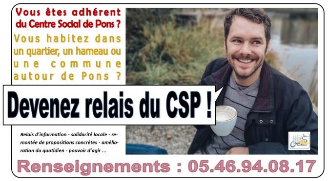 Devenez Relais du CSP !