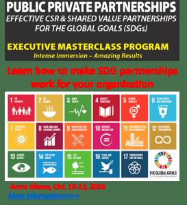 CSR & Shared Value Partnerships for the SDGs