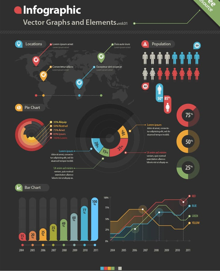 10 Best Free Infographic Elements