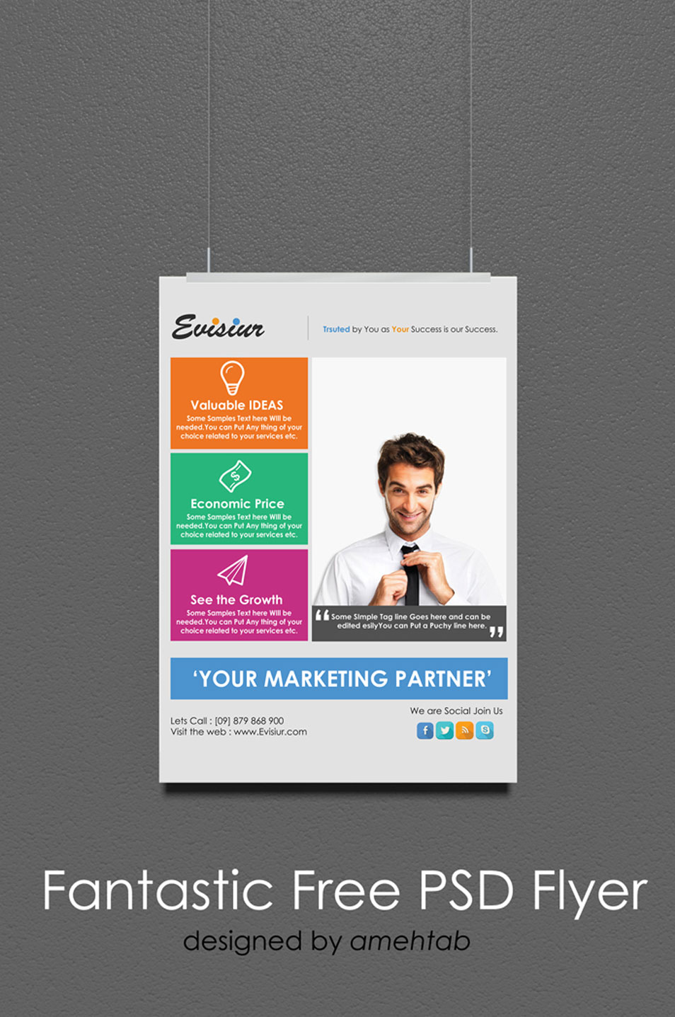 60 Best Free Flyer Templates PSD CSS Author