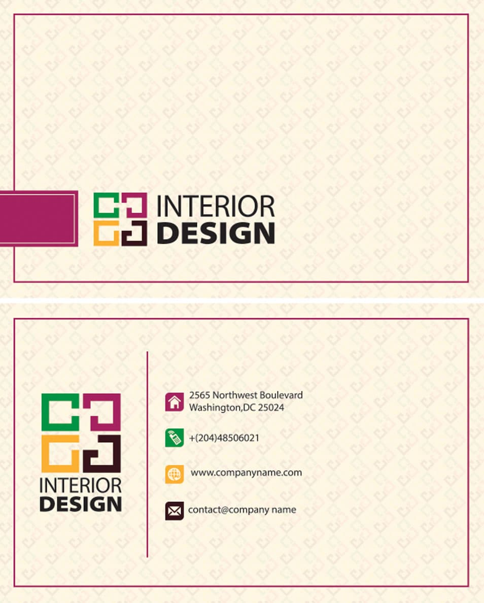 CSS 2014 100 Free Business Cards PSD