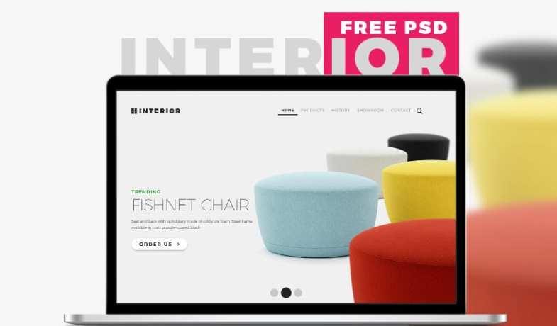 Interior Free Multi-purpose Furniture Store Template PSD Бесплатные шаблоны для интернет-магазина psd - Interior Free Multi purpose Furniture Store Template PSD - Бесплатные шаблоны для интернет-магазина PSD