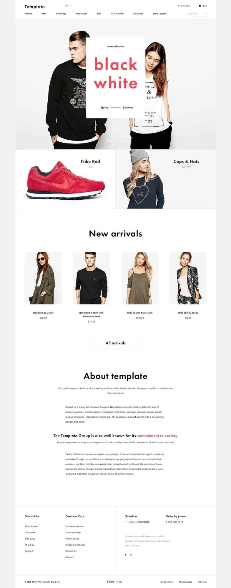Shop Template free PSD Бесплатные шаблоны для интернет-магазина psd - Shop Template Free PSD - Бесплатные шаблоны для интернет-магазина PSD