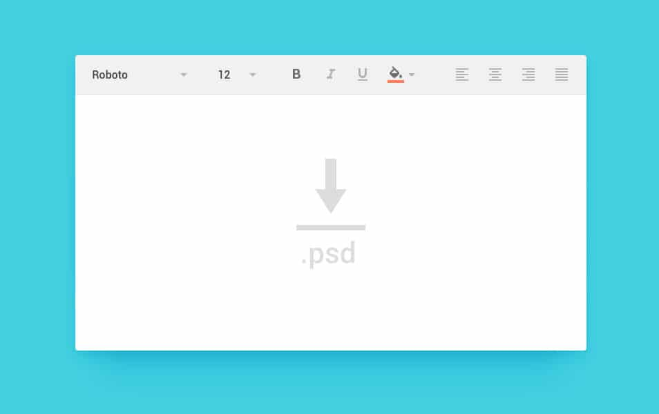 Android L Toolbox PSD