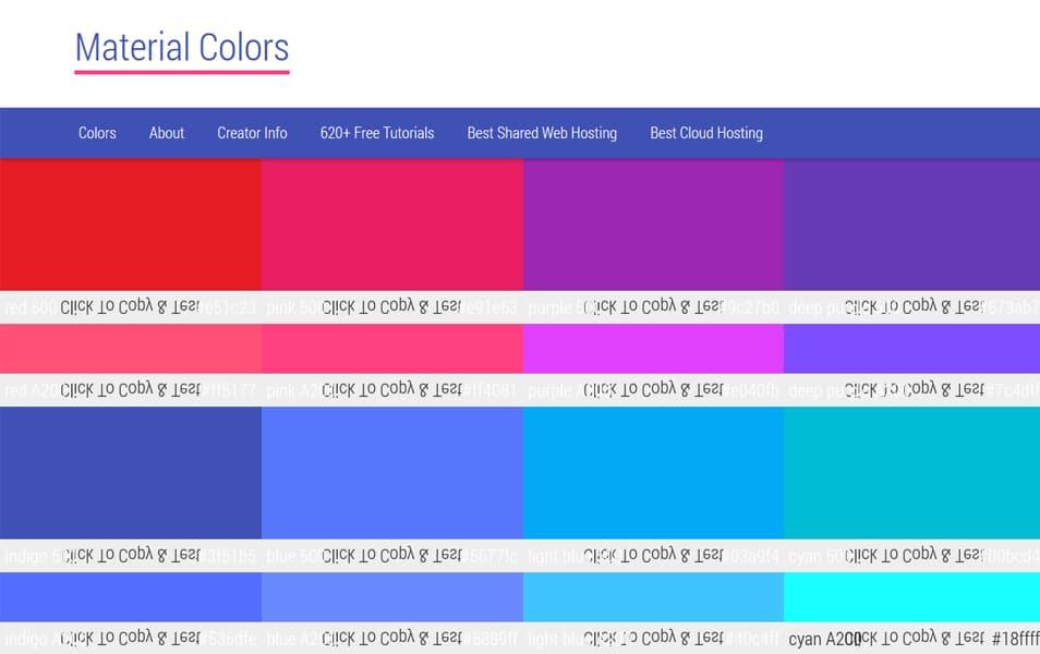 Material Colors