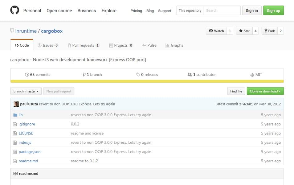 100+ Best Node.js Frameworks » CSS Author