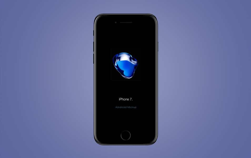 Free iPhone 7 Mockup – PSD