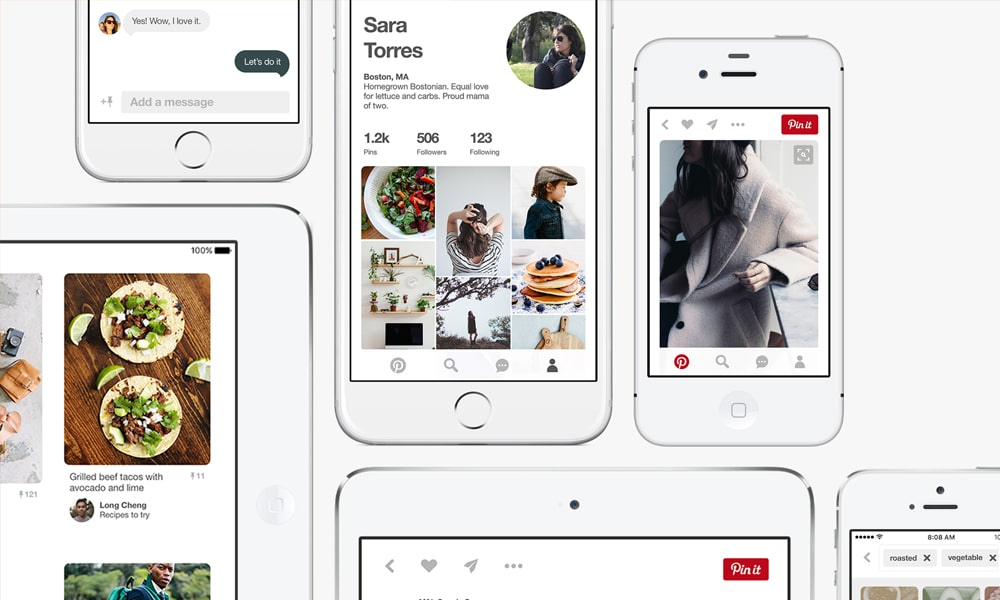 Redesigning Concept of Pinterest, Block by Block