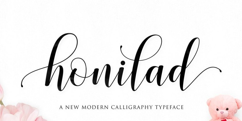 Honilad Script Is A Unique Modern Font With Distinct Clic Touch Clean And Simple It S Perfect For Greeting Cards Wedding Invitations Editorial