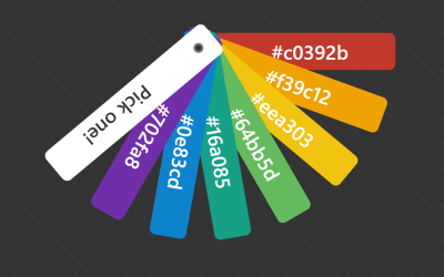 Animated Pure CSS Color Picker Swatch