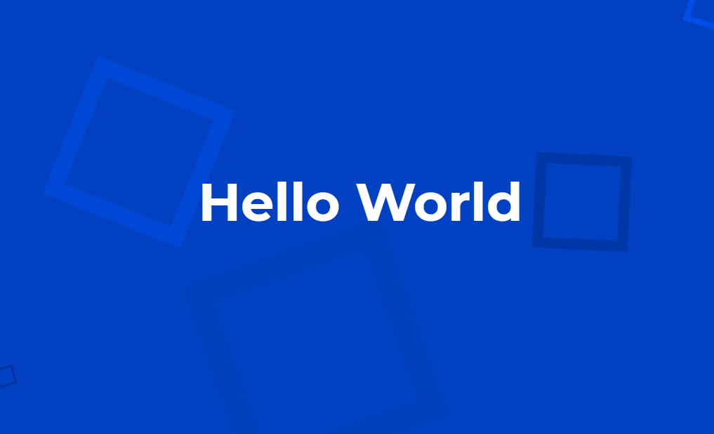 Awesome Background Shape Animation with HTML and CSS