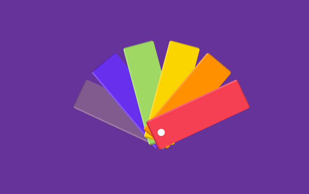 Color Picker Palette with Pure CSS Animation