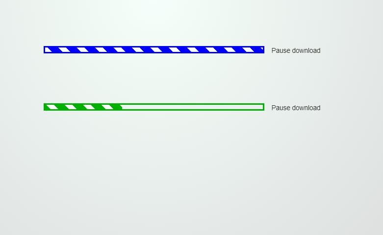 CSS Line Progress Bar Animation Design