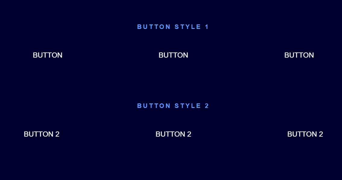 CSS Only Cool Button Hover Effects Collection