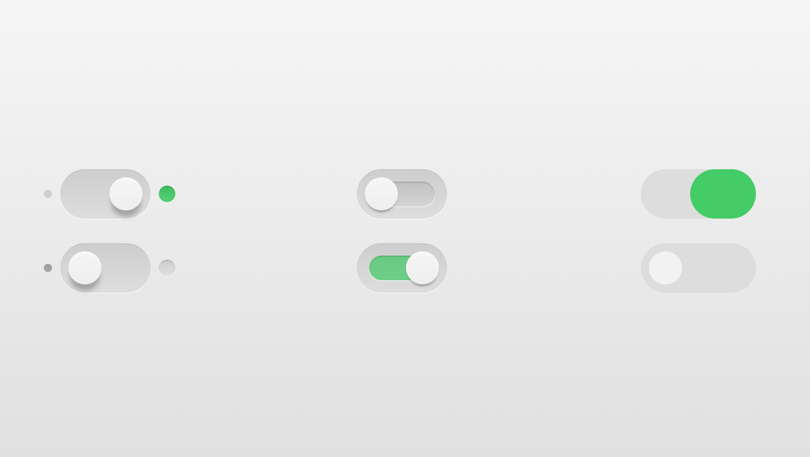 CSS3 Toggle Switch Checkbox Inspired Design
