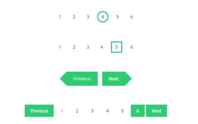 12 Different CSS Pagination Ideas