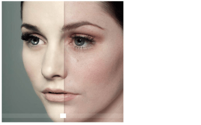HTML5 Before And After Comparison Slider Example