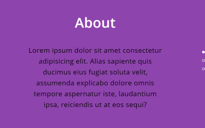 JavaScript Vertical Scrolling Slider Content Change