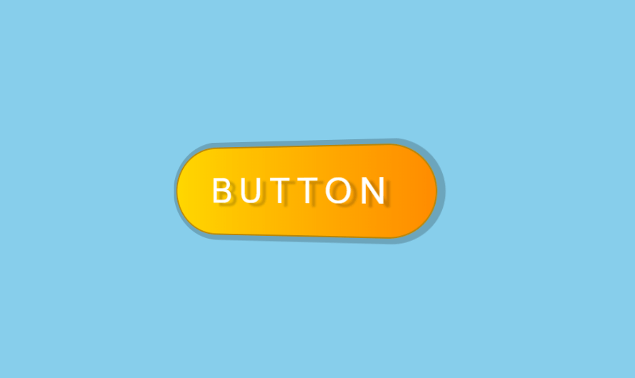 Metallic Glossy 3D CSS Button Hover Effects