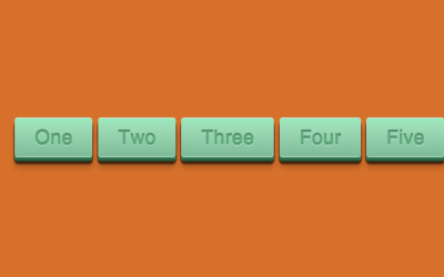 Single Element CSS 3D Button OnClick Snippet