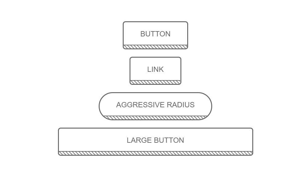 Stripped Diagonal CSS Button Single Border Hover