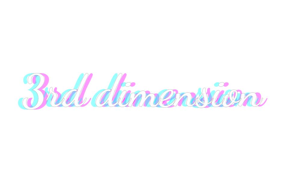 Three Dimension CSS Text Shadow Effect