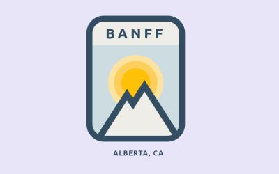 Animated HTML CSS Banff Badge Design