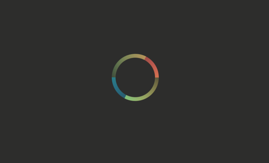 Color Blend Loading Spinner Gradients Animation