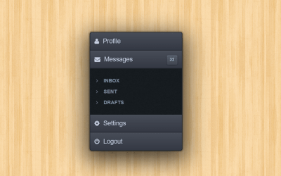 CSS Accordion Navigation Menu Snippet