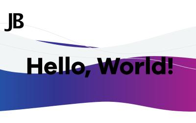 CSS Animated Rainbow Waves Header