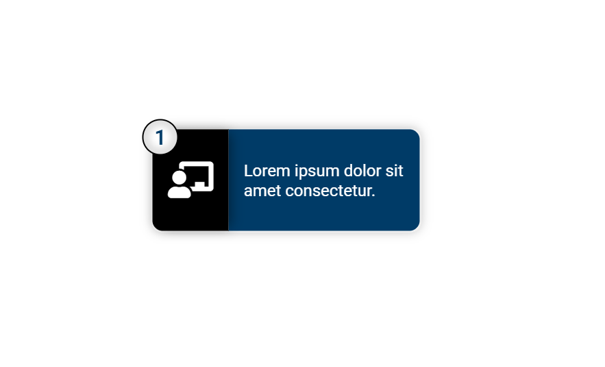 CSS Card Button Hover Effect with Badge