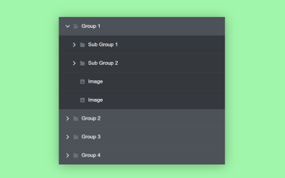 CSS Multi-level Accordion Menu Code Snippet