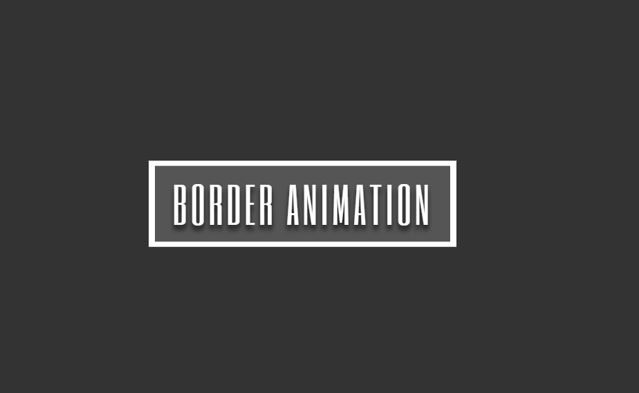 CSS Only Magic Border Animation Hover Effect