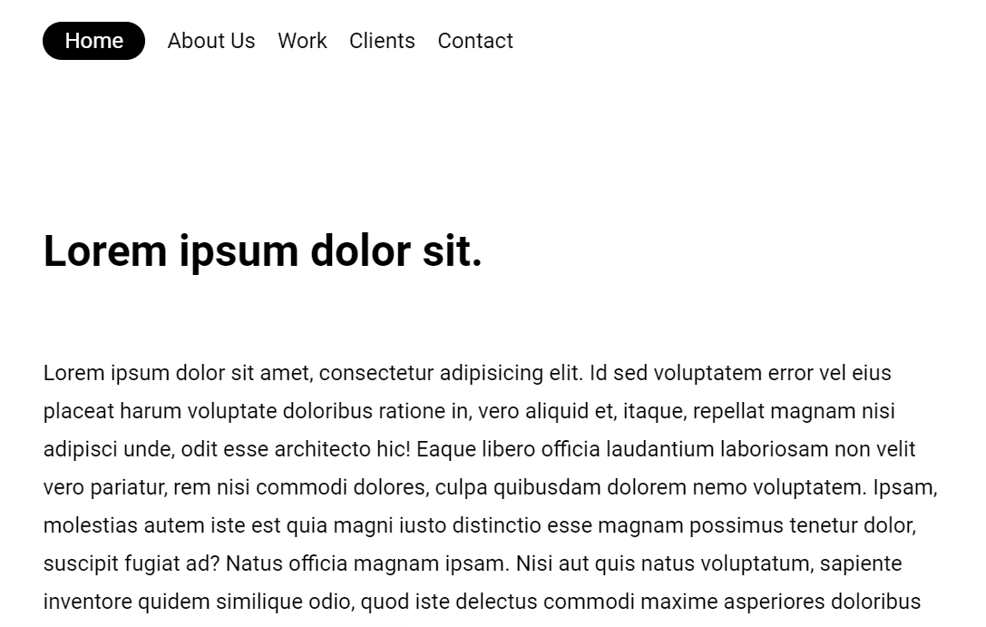CSS Responsive Fixed Header On Website Scroll