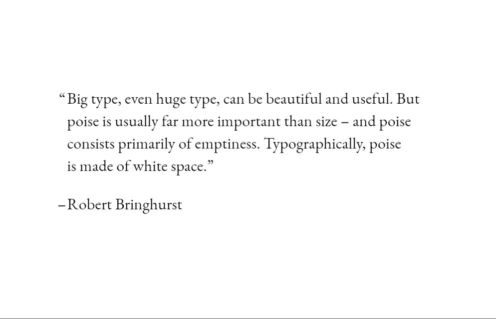 CSS Typography Flex Quote Style