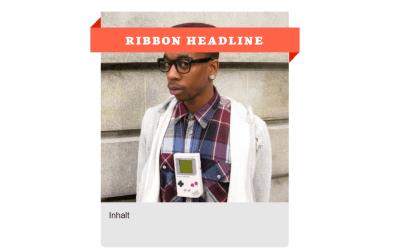 CSS Web Ribbon Design On Image