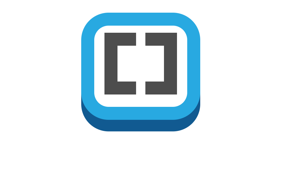 HTML CSS Single Element Brackets Logo