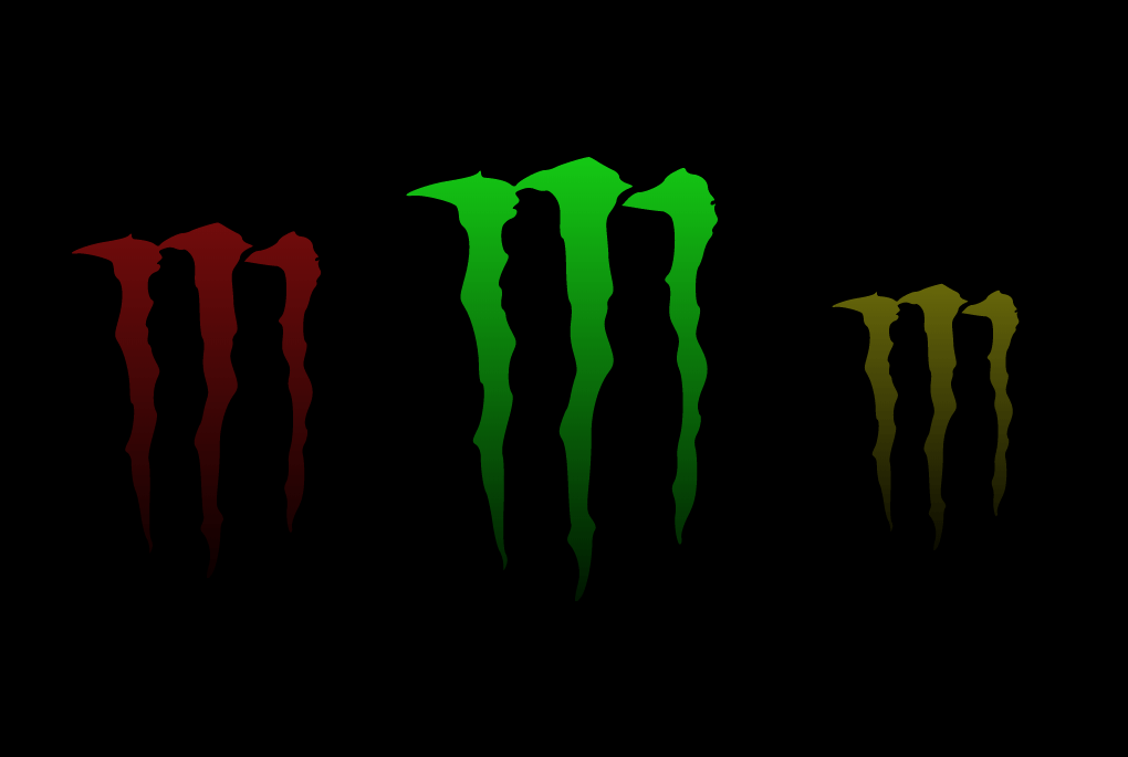Monster Energy CSS SVG Logo Animated