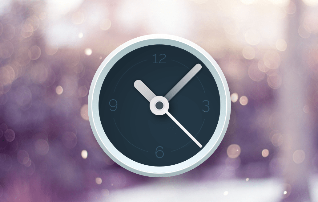 CSS Only Analog Clock UI Design