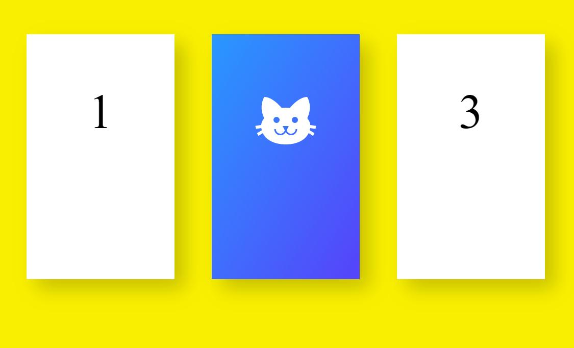 Flip Box Card CSS Code Snippet