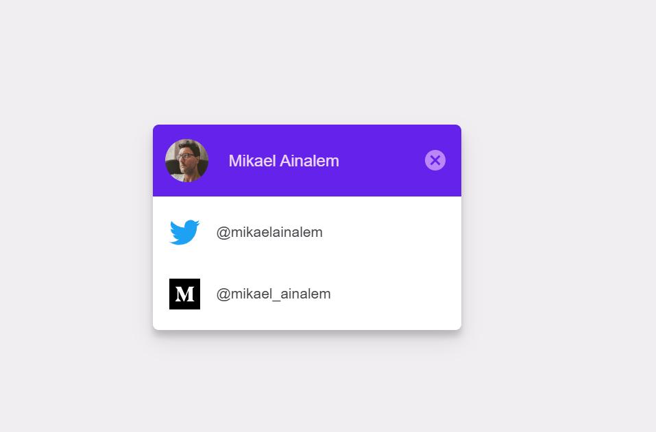 Material Design CSS Pop Up Window Example